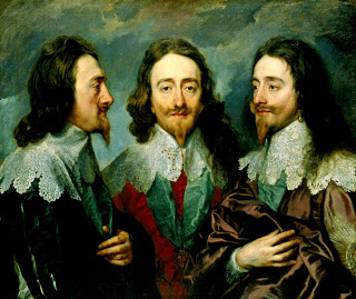Anthony van Dyck - Triple Portrait of King Charles I
