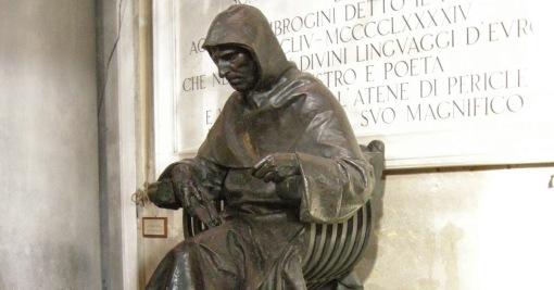 san_marco_firenze_statua_di_savonarola